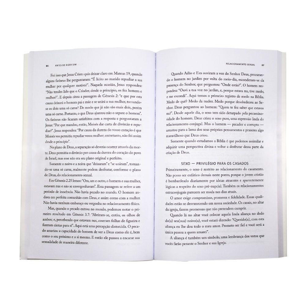 Livro: Antes De Dizer Sim | Jaime Kemp