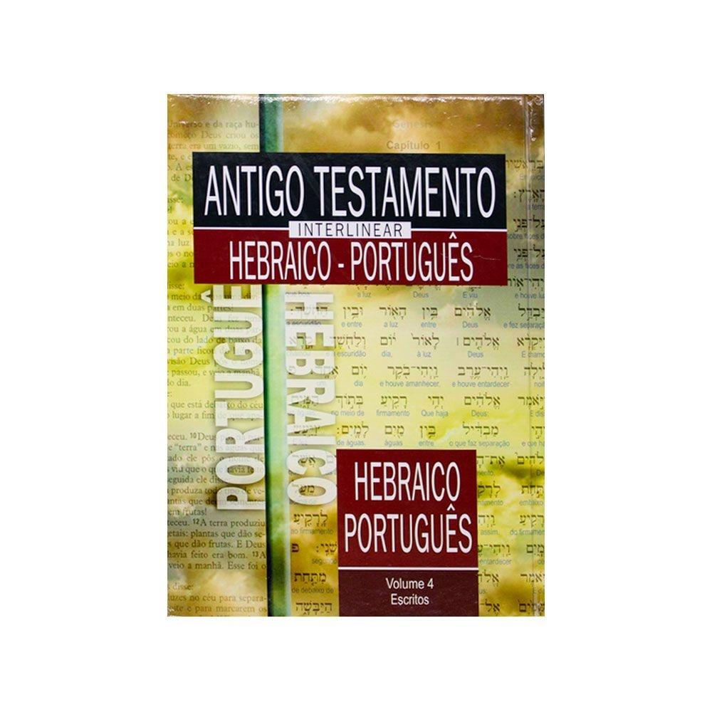 Livro: Antigo Testamento Interlinear Hebraico - Português Volume 4 | SBB