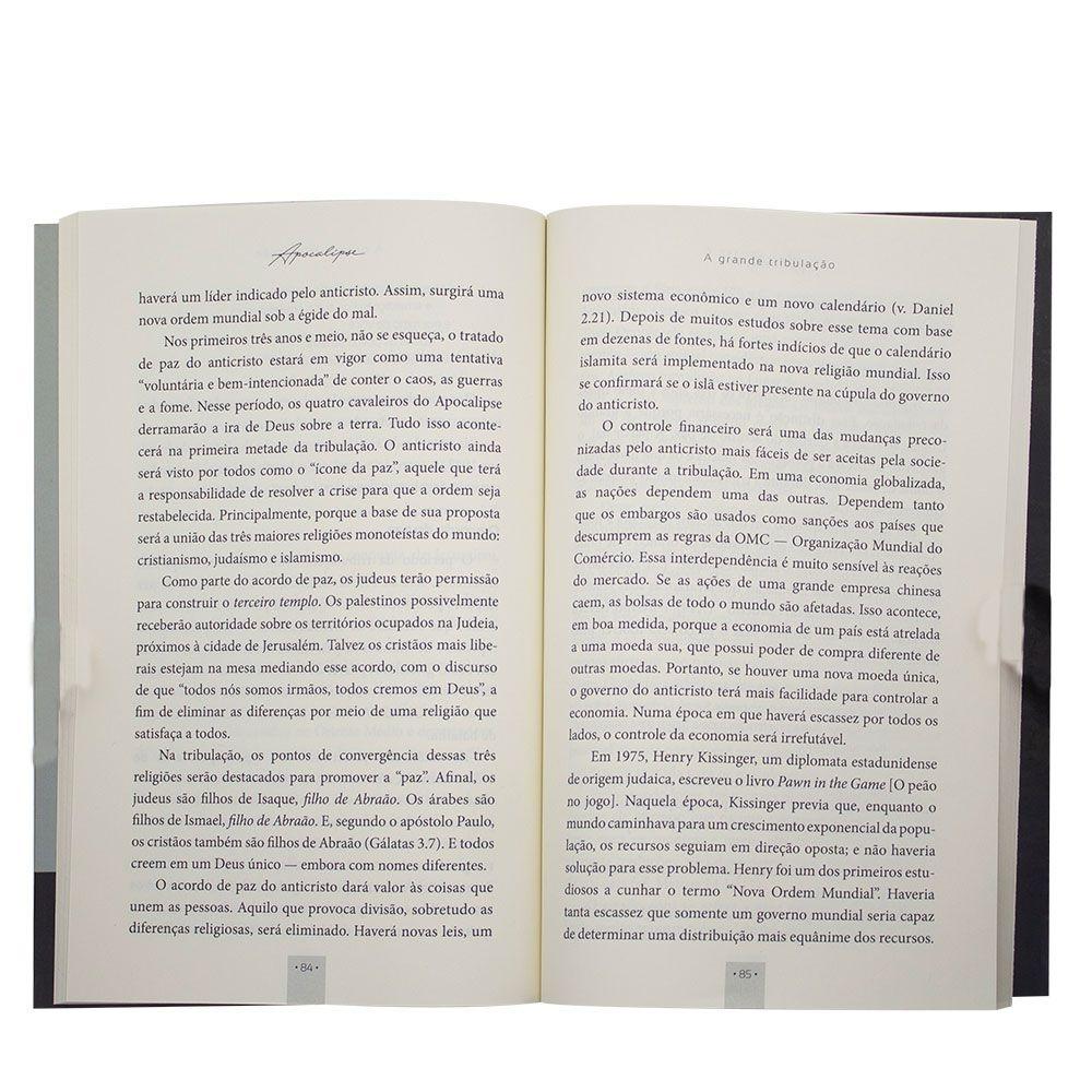 Livro: Apocalipse - A Maior Profecia Do Mundo   Lamartine Posella