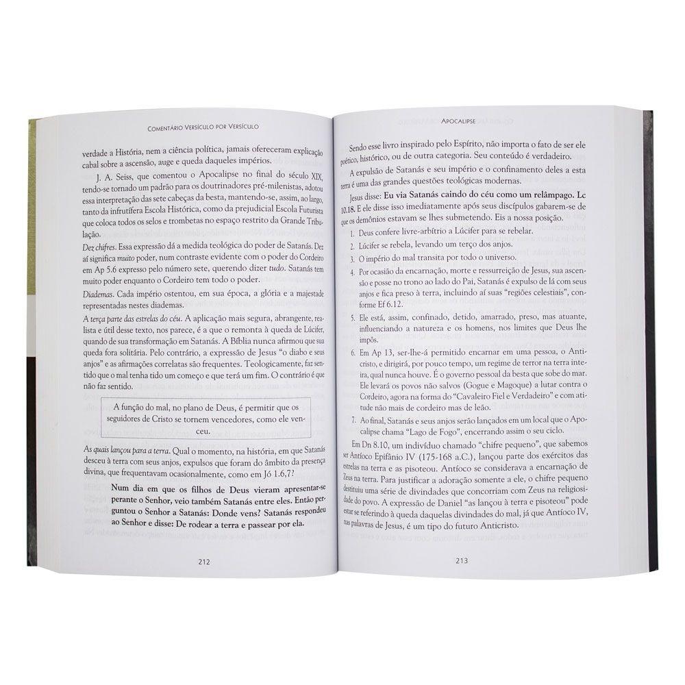 Livro: Apocalipse Comentário Versículo Por Versículo   Neemias Carvalho Miranda
