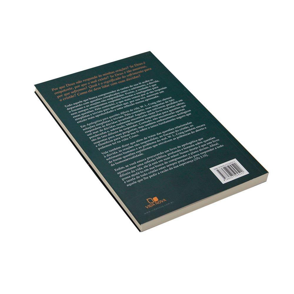 Livro: Apologética Para Questões Difíceis Da Vida | William Lane Graig