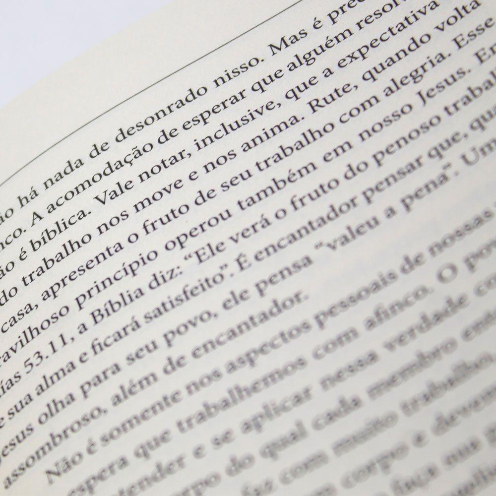 Livro: As Boas Novas Em Rute   Capa Dura   Emílio Garofalo Neto