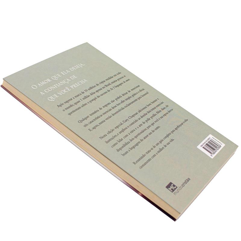 Livro: As Cinco Linguagens Do Amor Para Homens   Gary Chapman
