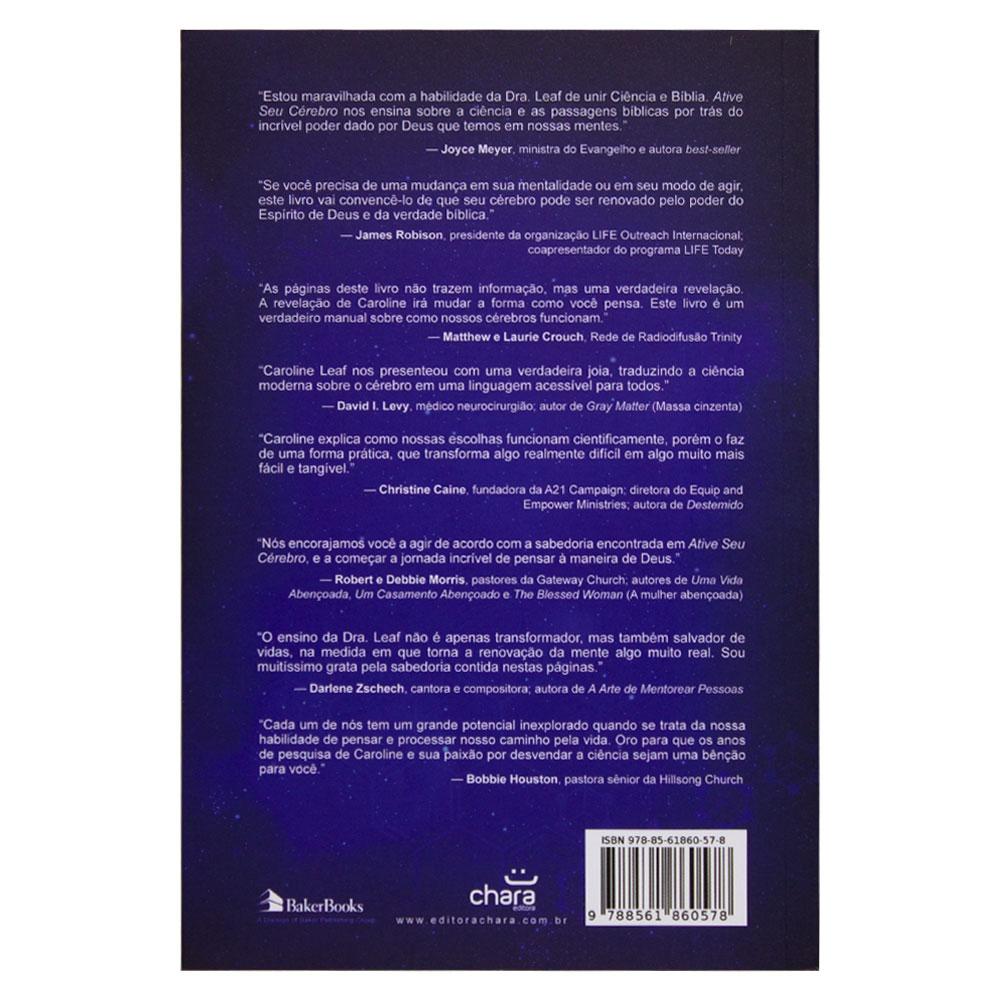 Livro: Ative Seu Cérebro | Dra. Caroline Leaf