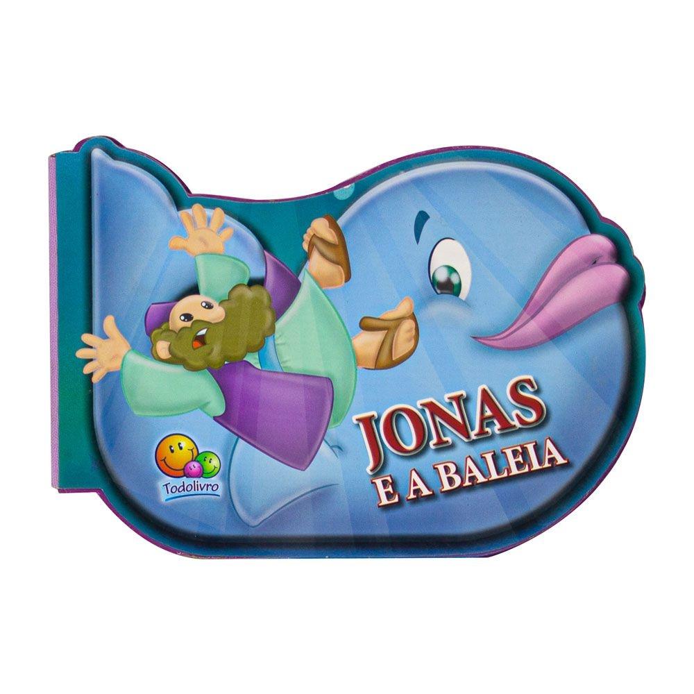 Livro: Aventuras Da Bíblia - Jonas E A Baleia   Todolivro