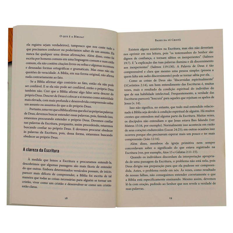 Livro: Bases Da Fé Cristâ   Wayne Grudem