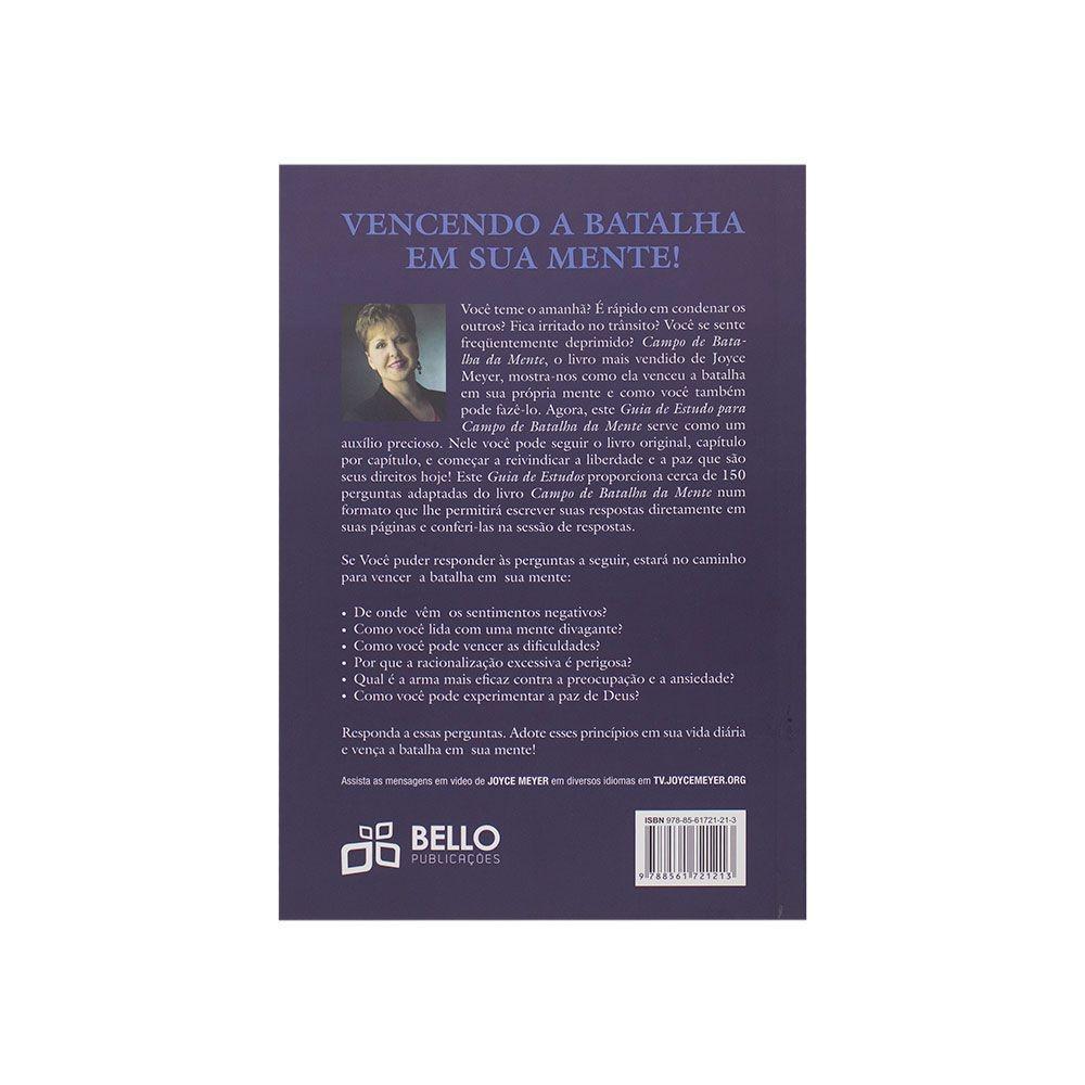 Livro: Campo Da Batalha Da Mente - Guia Estudos   Joyce Meyer