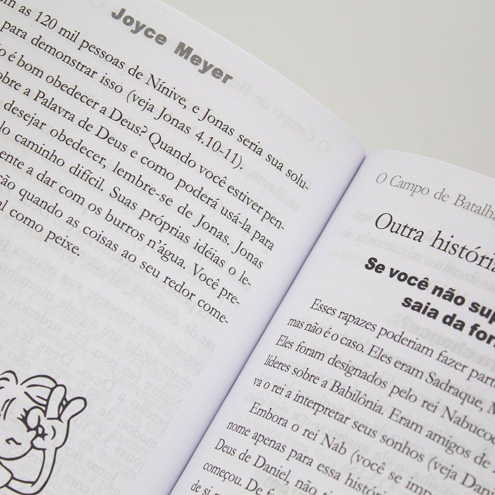 Livro: Campo De Batalha Da Mente Para Crianças   Joyce Meyer