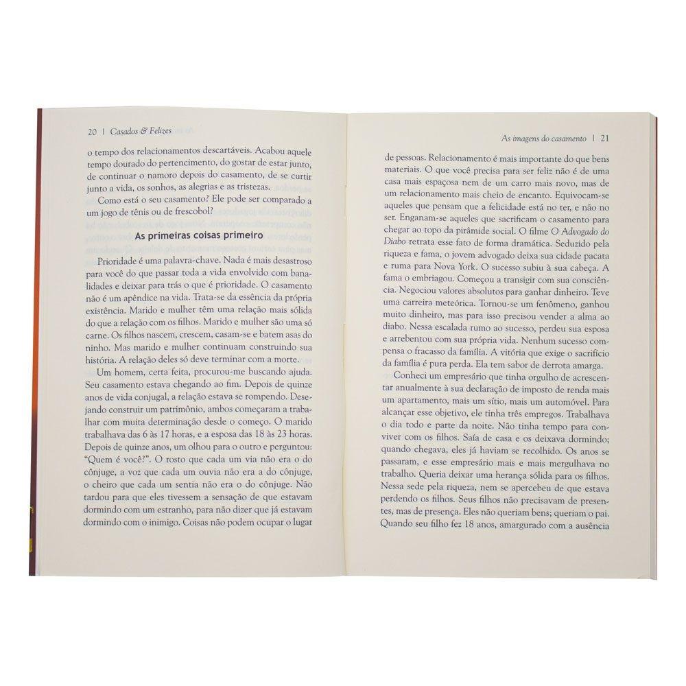 Livro: Casados E Felizes | Hernandes Dias Lopes