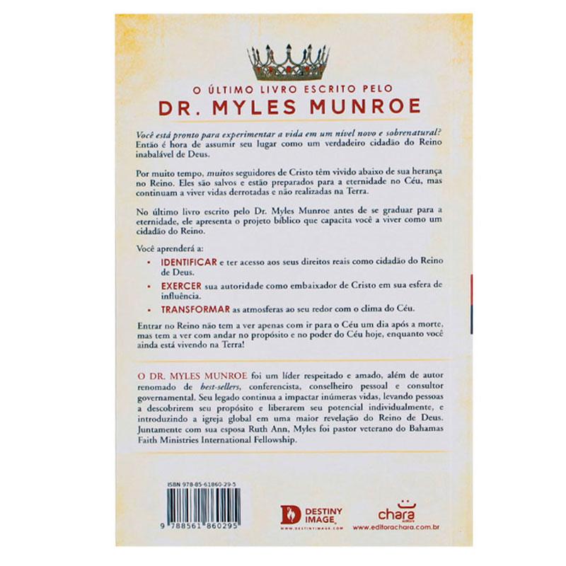 Livro: Cidadãos Do Reino | Myles Munroe