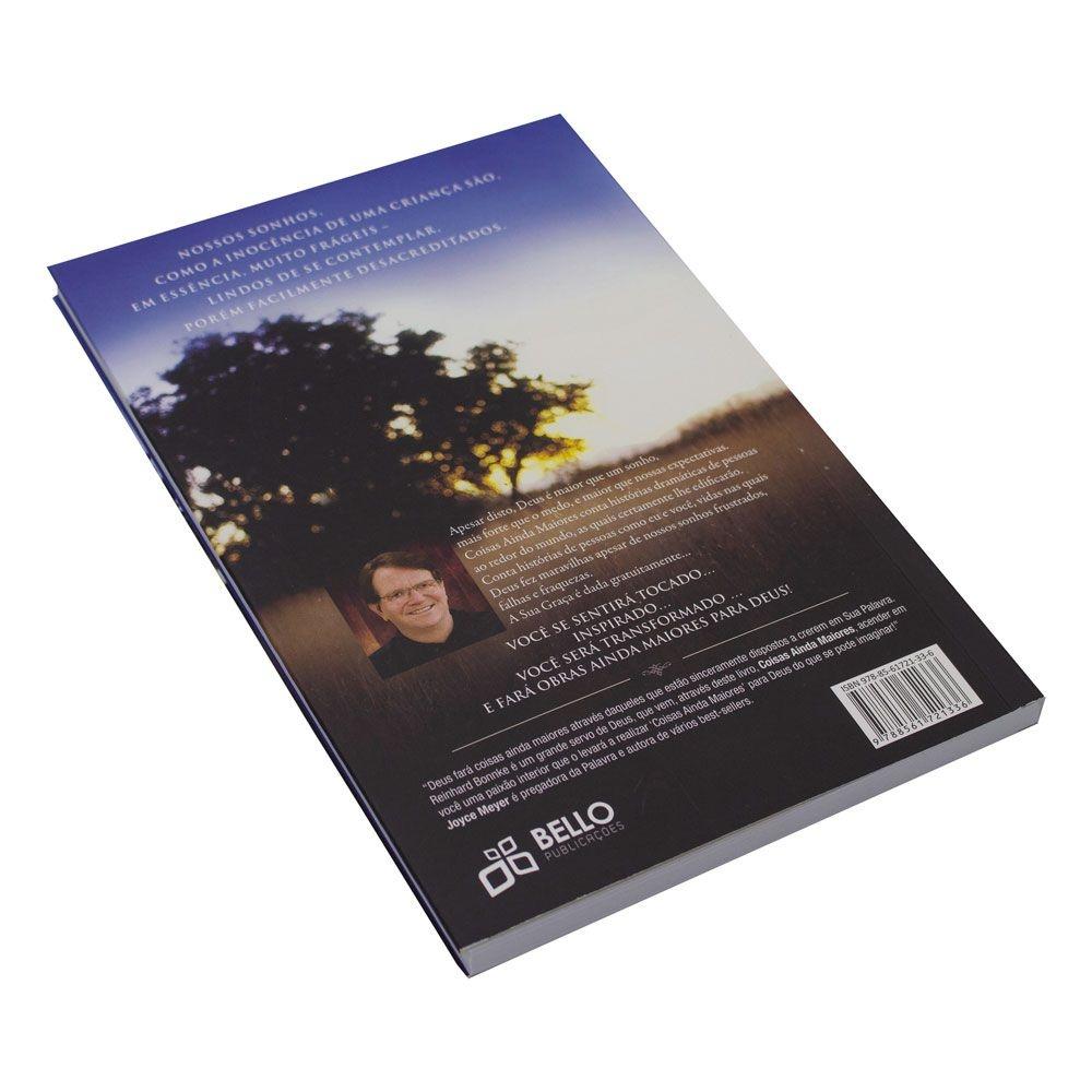 Livro: Coisas Ainda Maiores | Reinhard Bonnke