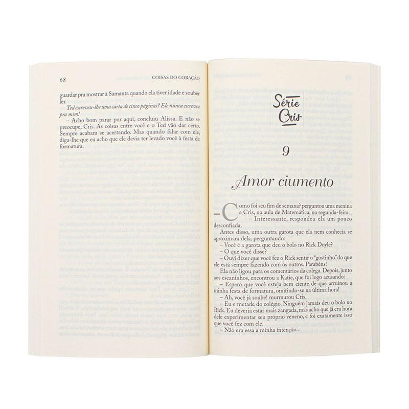 Livro: Coisas Do Coração | Cris Volume 04 | Robin Jones Gunn