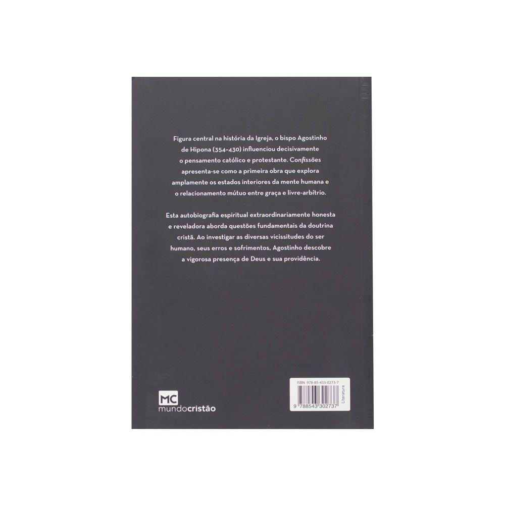 Livro: Confissões | Agostinho De Hipona
