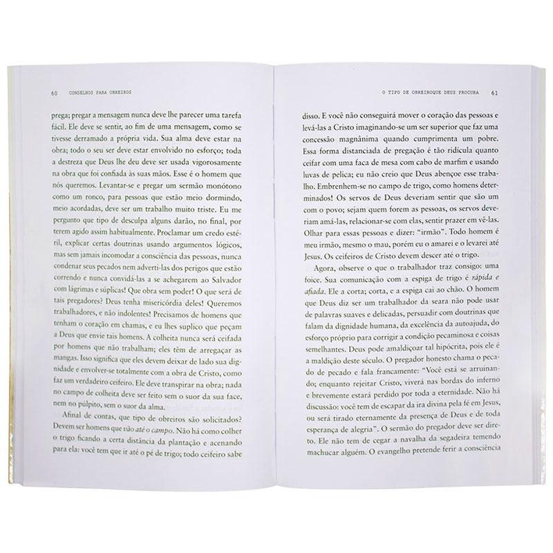 Livro: Conselhos Para Obreiros | C. H. Spurgeon