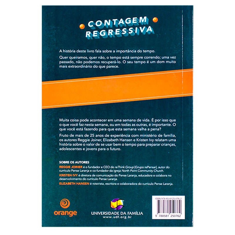 Livro: Contagem Regressiva | Reggie Joiner & Kristen Ivy