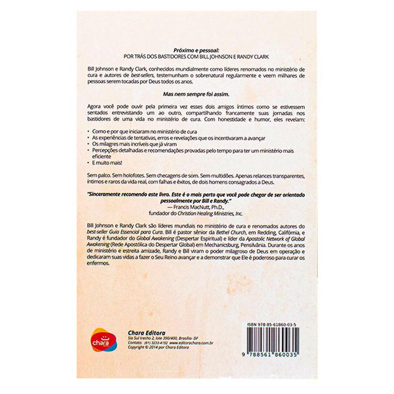 Livro: Conversa Franca Sobre Cura | Bill Johnson E Randy Clark