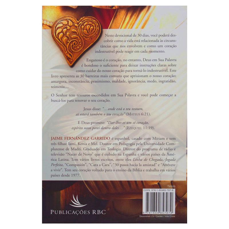 Livro: Coração Indestrutível | Jaime Fernández Garrido
