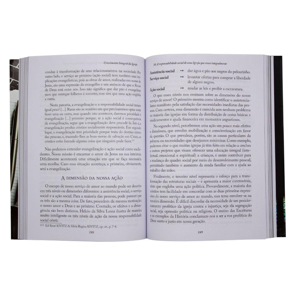 Livro: Crescimento Integral Da Igreja   Paschoal Piragine Jr