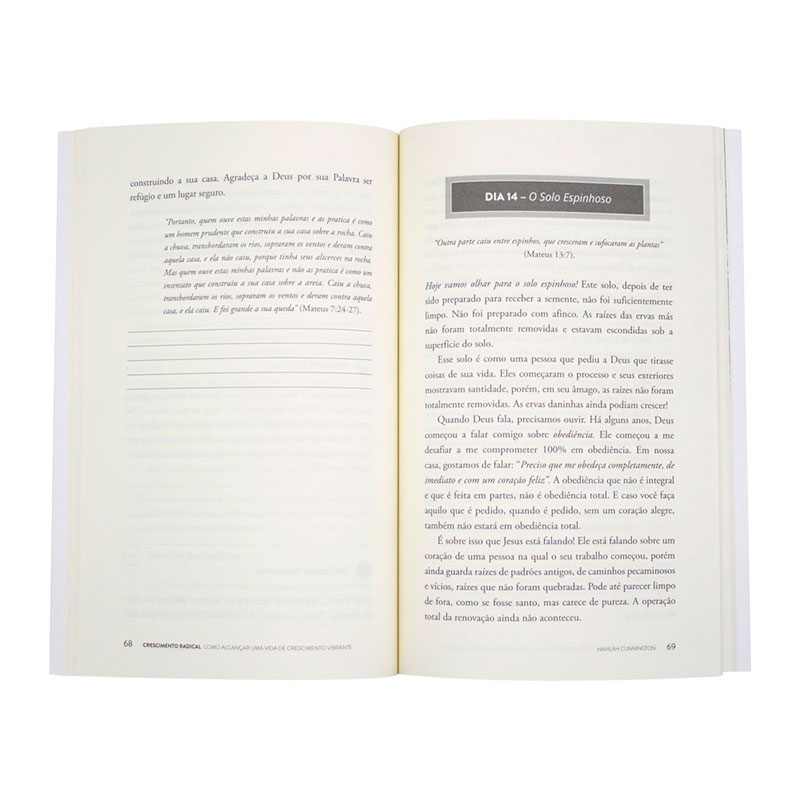 Livro: Crescimento Radical   Havilah Cunnington