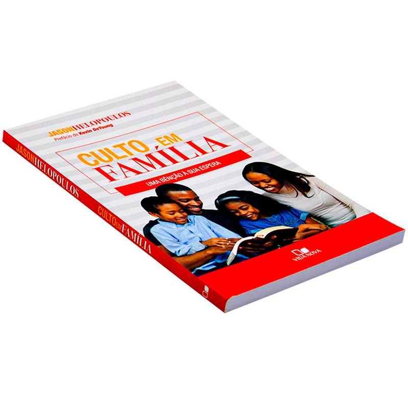 Livro: Culto Em Família   Jason Helopoulos