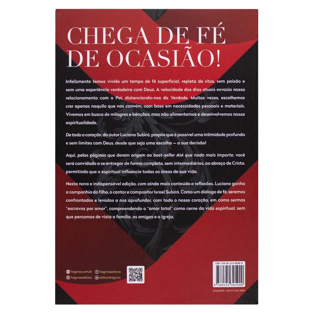 Livro: de Todo Coração | Luciano Subirá