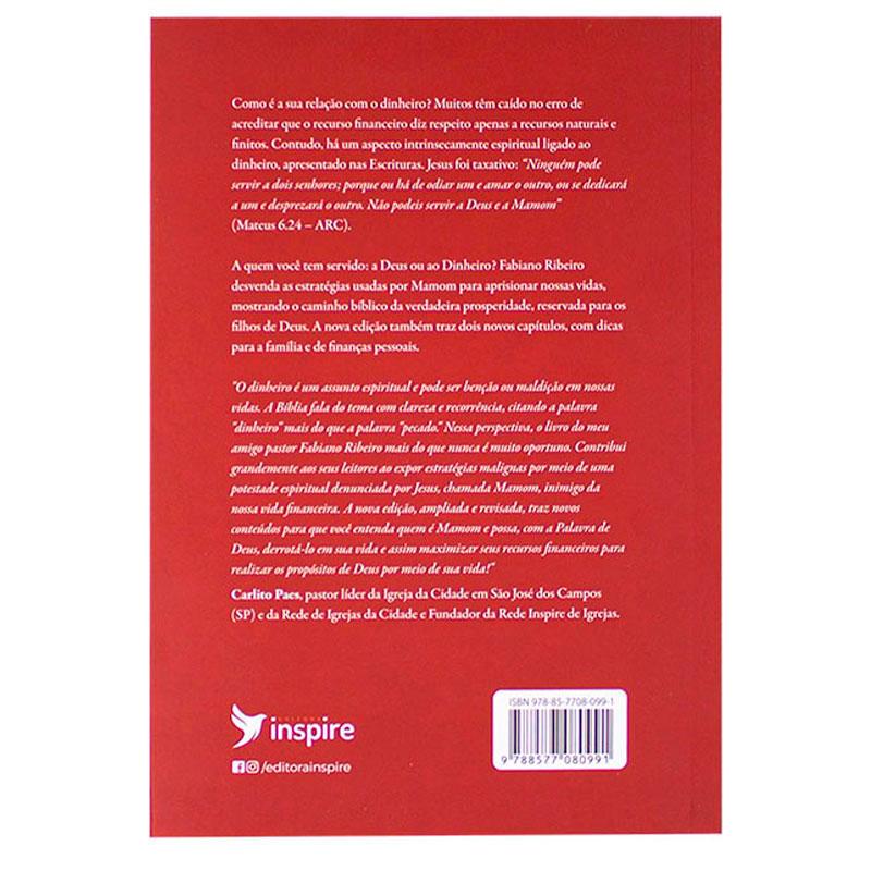 Livro: Derrote Mamom - 2ª Edição   Fabiano Ribeiro