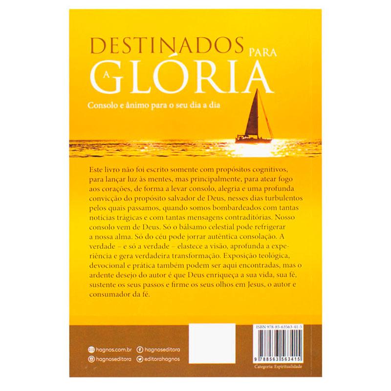 Livro: Destinados Para A Glória | Hernandes Dias Lopes