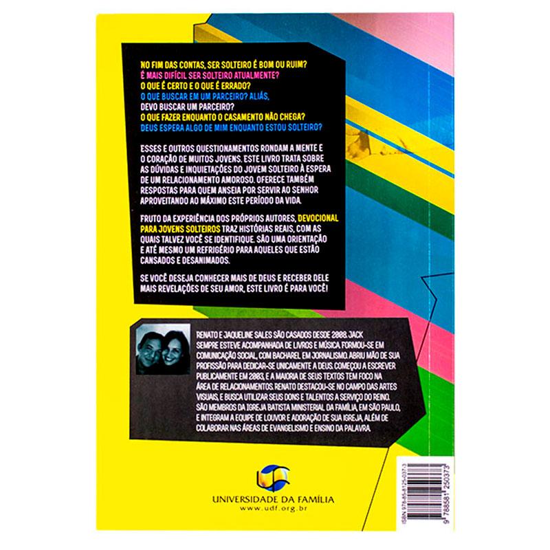 Livro: Devocional Para Jovens Solteiros | Renato & Jaqueline Sales