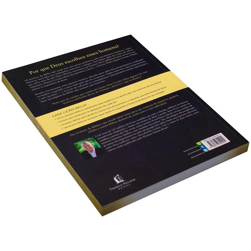 Livro: Dez Homens Da Bíblia - Guia De Estudo   Max Lucado