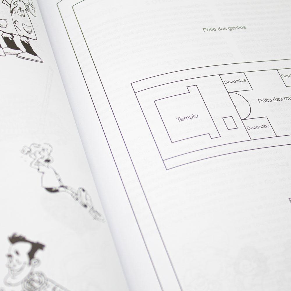 Livro: É Hora De Jogar - A.T. 2 Juízes À Jonas - 96 Atividades   TNT Ministries