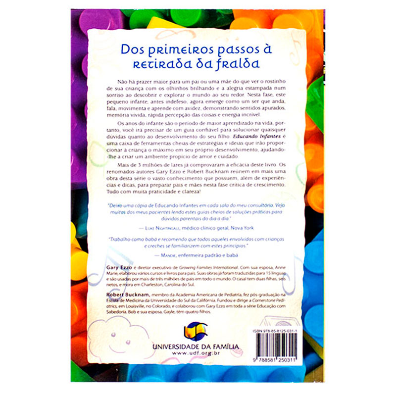 Livro: Educando Infantes   Gary Ezzo & Robert Bucknam