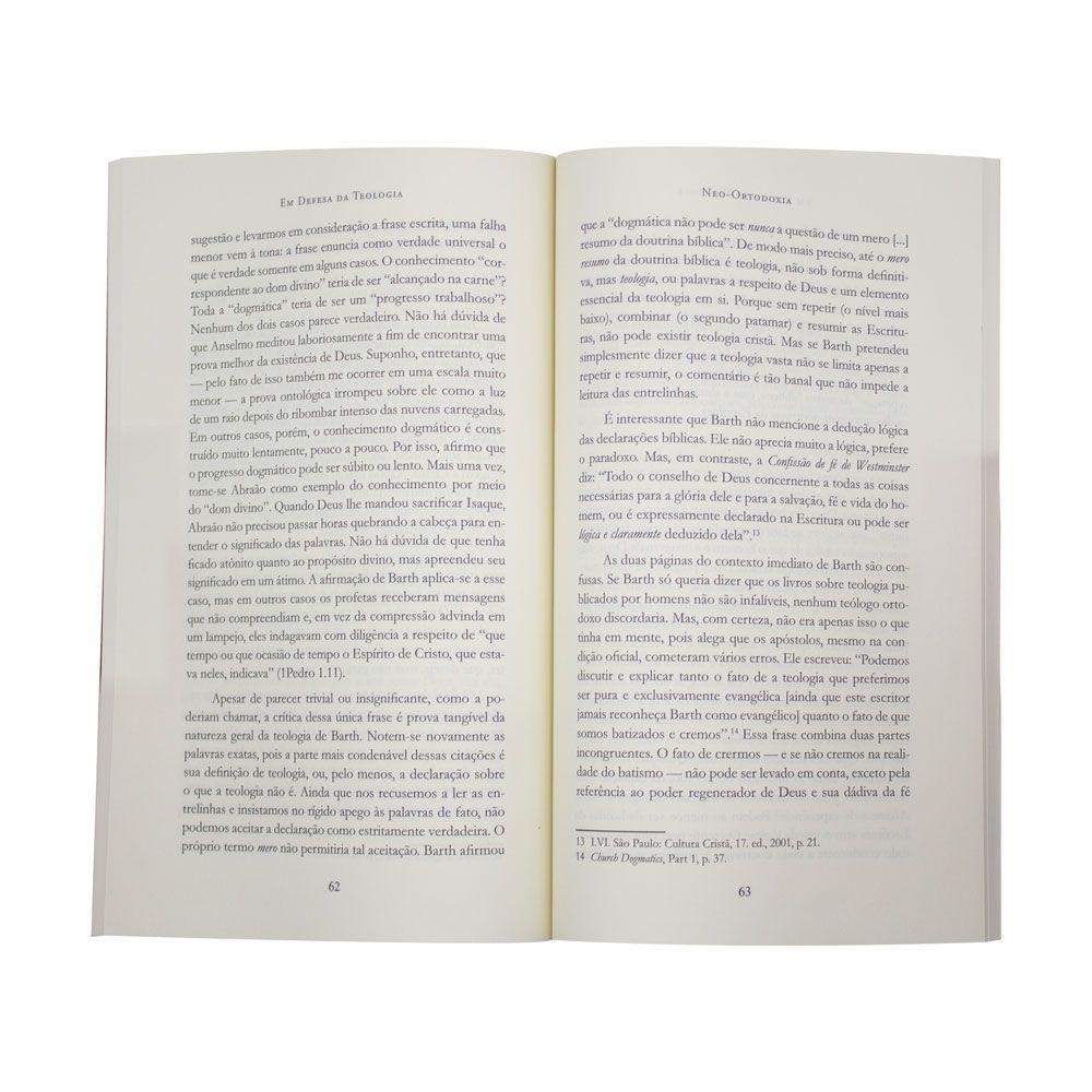 Livro: Em Defesa Da Teologia | Gordon H. Clark