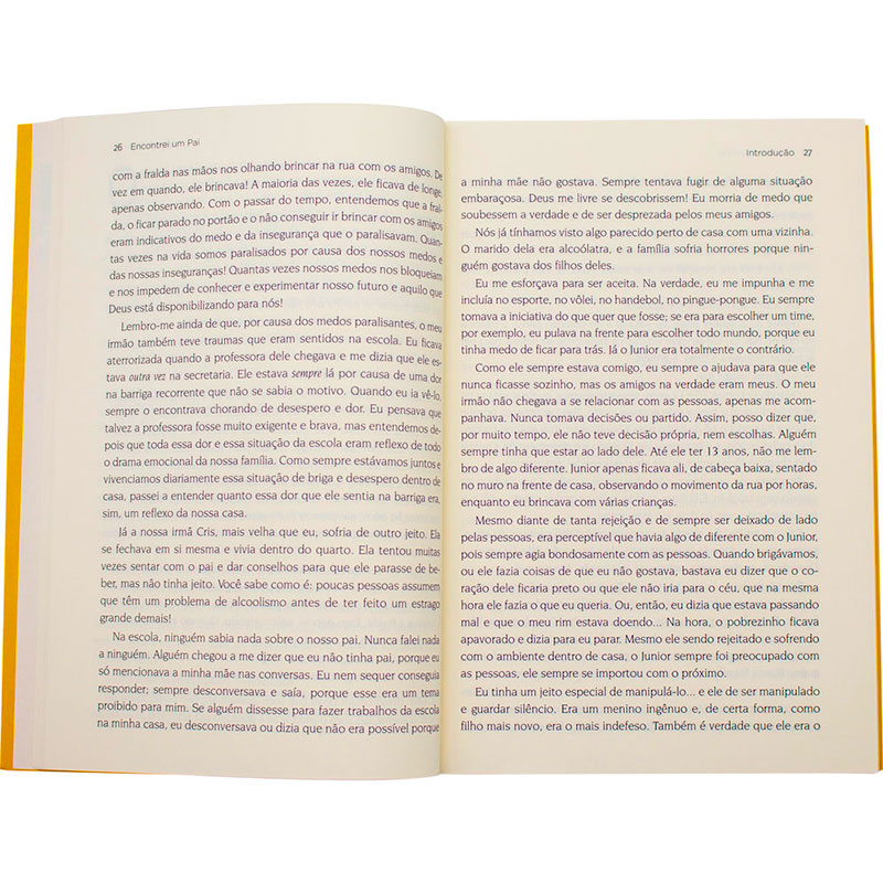 Livro: Encontrei Um Pai | Junior Rostirola