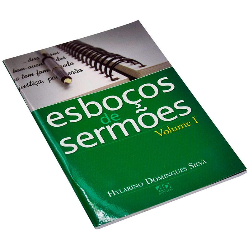 Livro: Esboços De Sermões - Vol. 1   Hylarino Domingues Silva
