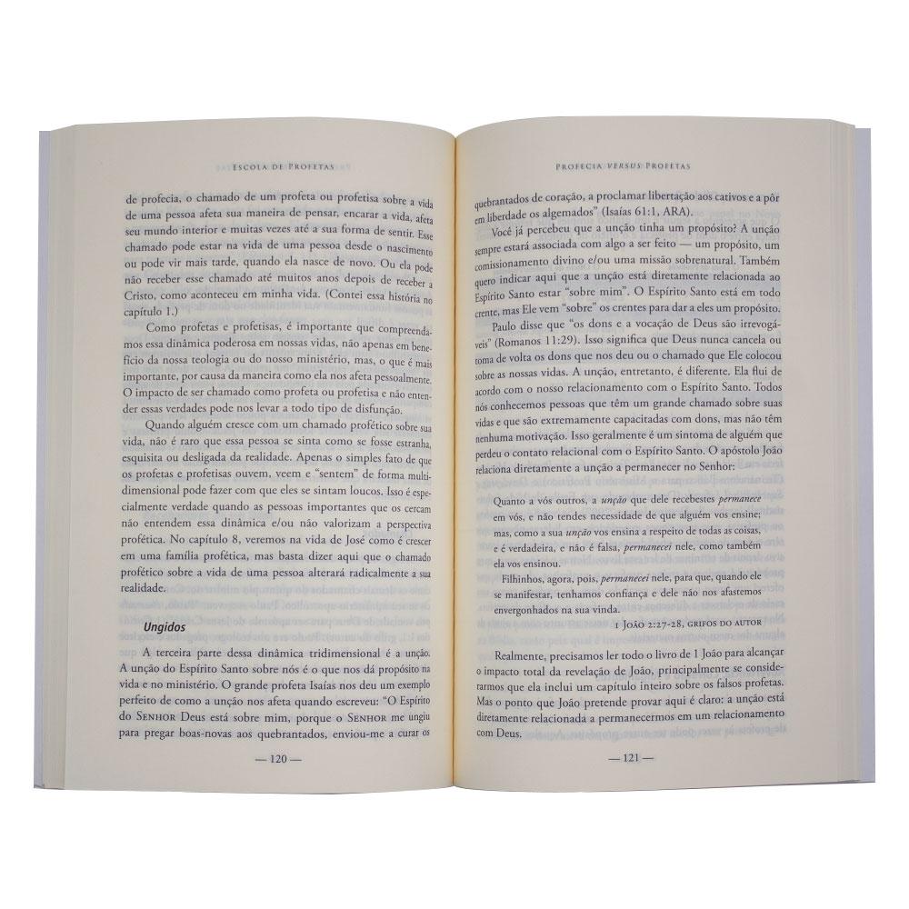 Livro: Escola De Profetas   Kris Vallotton