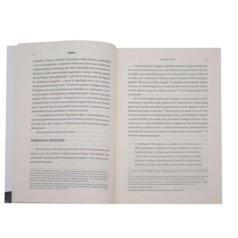 Livro: Escravo - A Verdade Escondida Sobre Nossa Identidade Em Cristo   John Macarthur