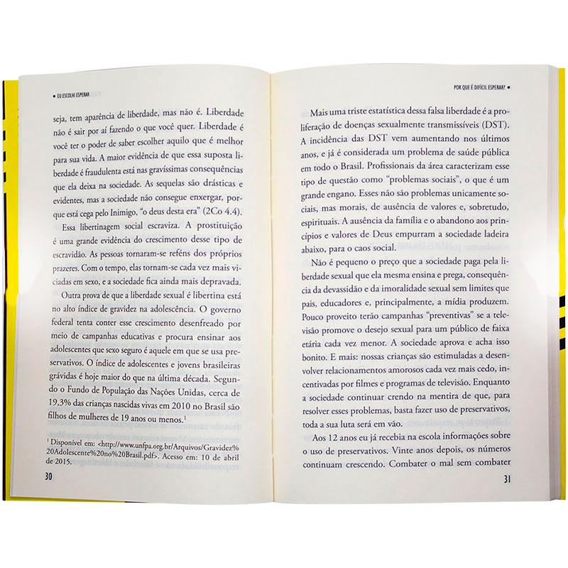 Livro: Eu Escolhi Esperar | Nelson Júnior