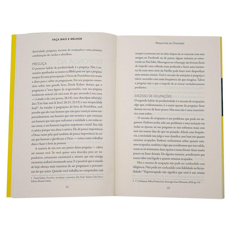 Livro: Faça Mais E Melhor, Um Guia Prático Para A Produtividade | Tim Challies
