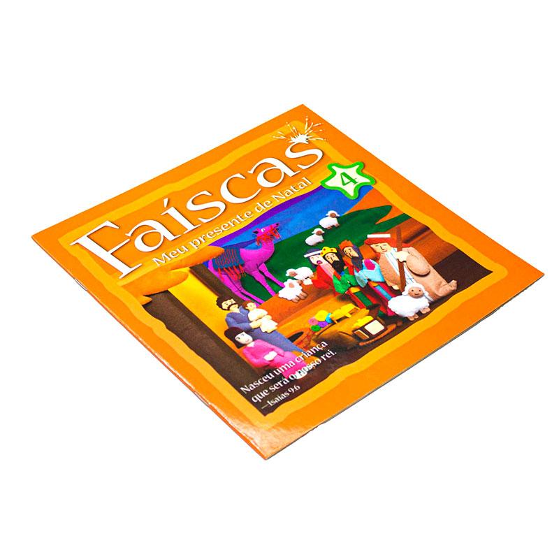 Livro: Faíscas - Meu Presente de Natal 4 | Vários Autores