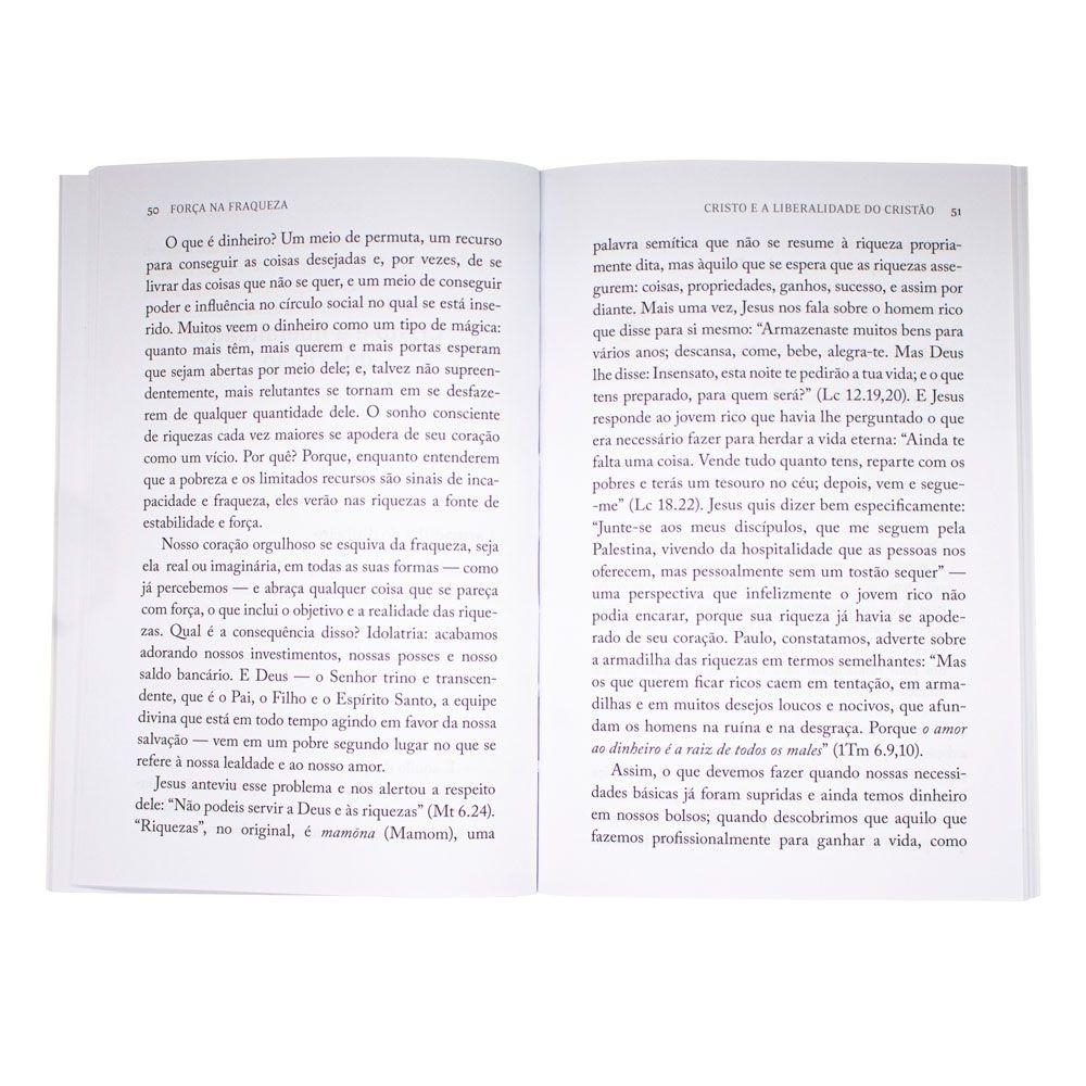 Livro: Força Na Fraqueza   J. I. Packer