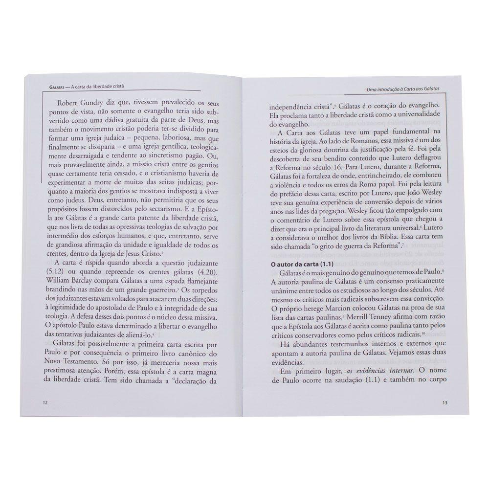 Livro: Gálatas - Comentários Expositivos   Hernandes Dias Lopes