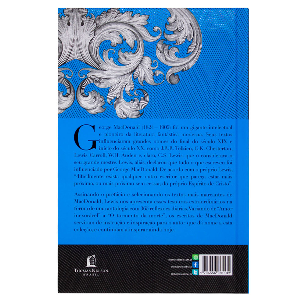 Livro: George Macdonald: Uma Antologia | C.S. Lewis
