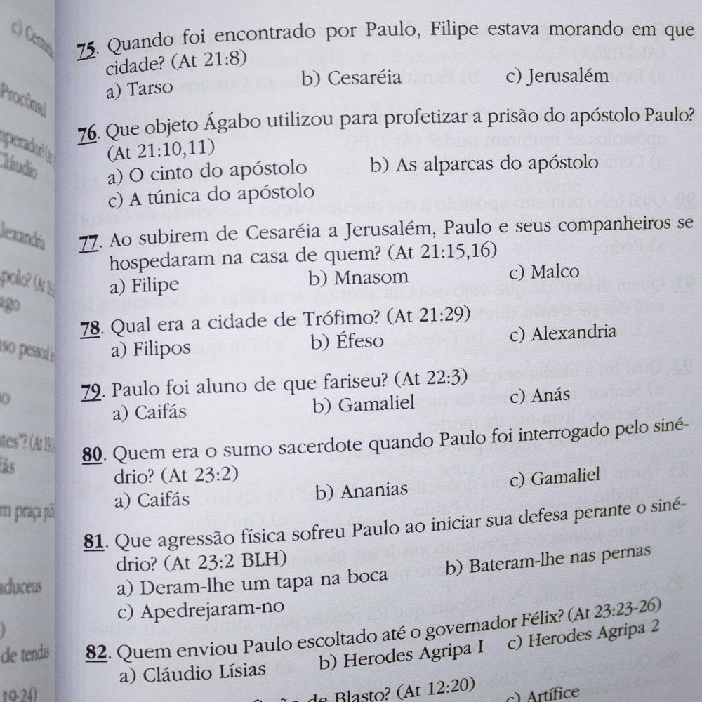 Livro: Gincana Bíblica | Sílvio Nakano