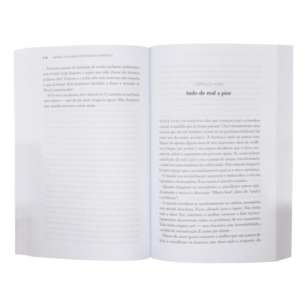 Livro: Heróis Da Fé Moisés   Charles R. Swindoll