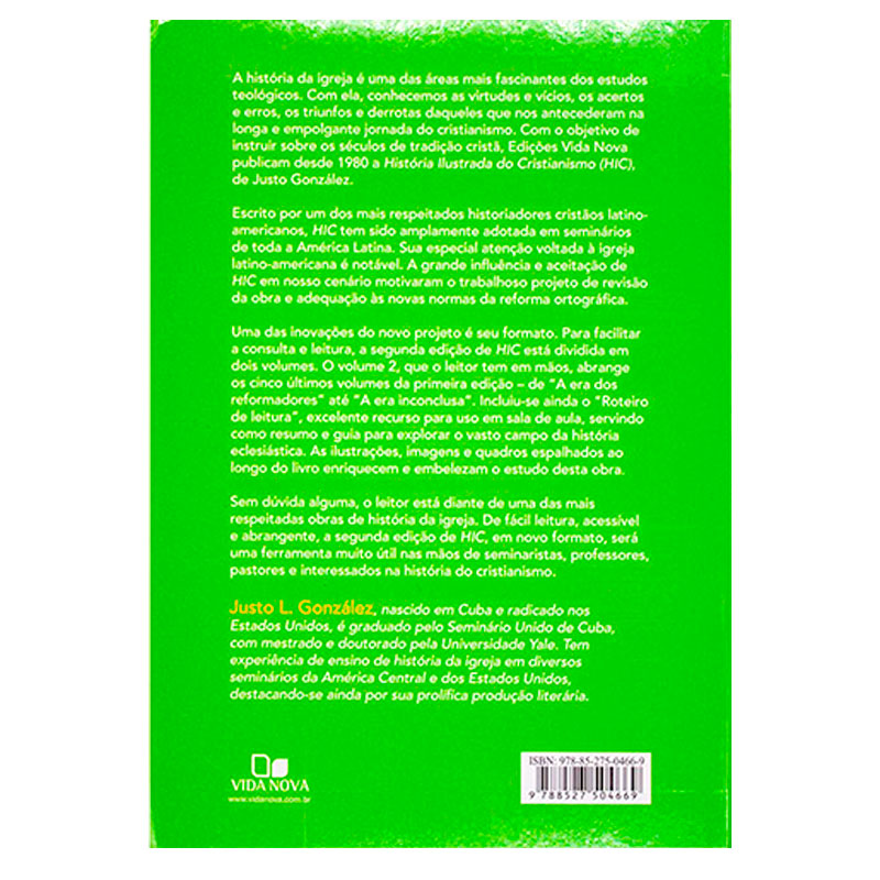 Livro: História Ilustrada Do Cristianismo Vol. 2 | Justo L. González