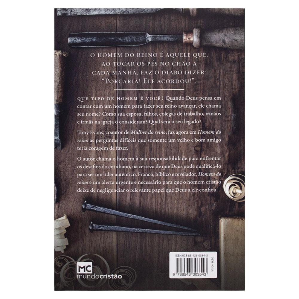 Livro: Homem do Reino | Tony Evans