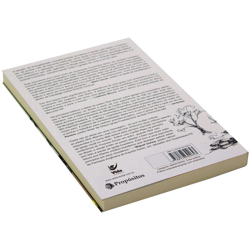 Livro: Igreja Brasileira Com Propositos | Carlito Paes