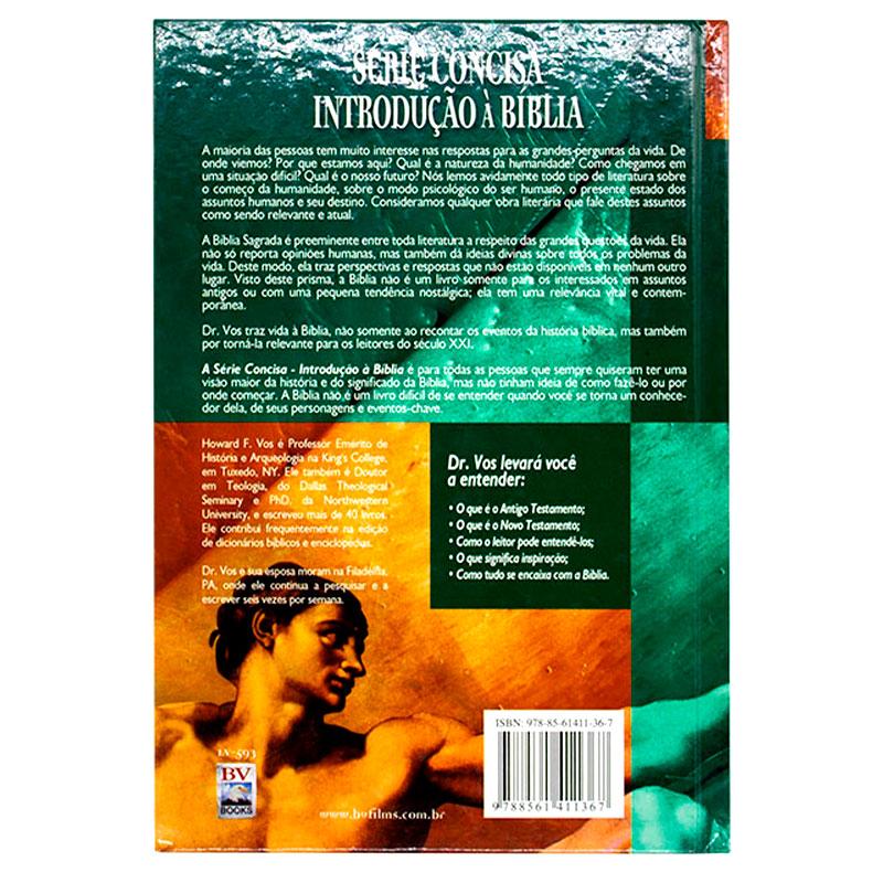 Livro: Introdução À Bíblia - Série Concisa   Dr. Howard Vos