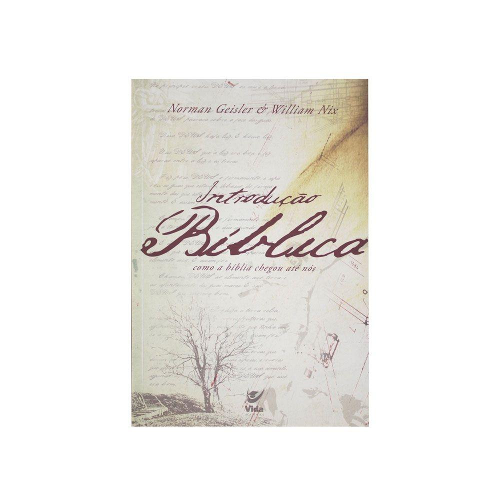 Livro: Introdução Bíblica | William Nix
