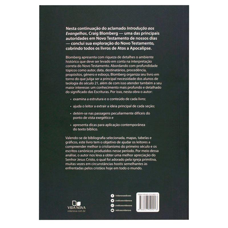 Livro: Introdução De Atos A Apocalipse | Craig L. Blomberg